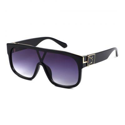 violet square sunglass for man