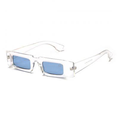 Aqua rectangle sunglass for men