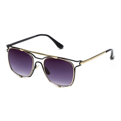 violet square sunglass for men