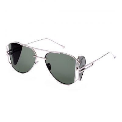 Green aviator sunglass for men