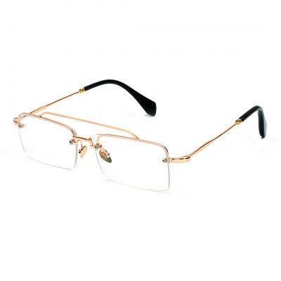 Rio Rabbit golden frame eyewerar