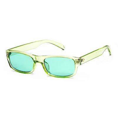 green rectangle sunglass for men