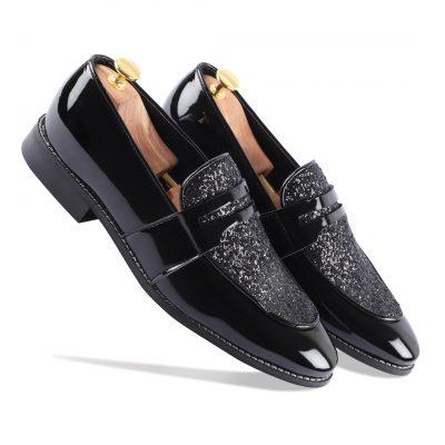 Black Loafer Shoes For Men