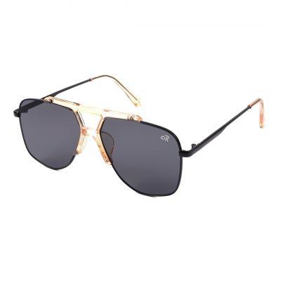 Black Aviator sunglass for men
