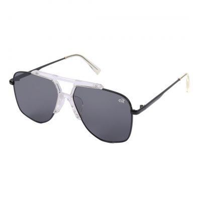 black aviator sunglass for man