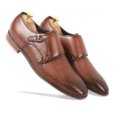 Full Brown Monk Strap shoes
